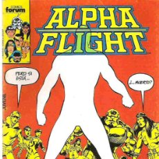 Cómics: ALPHA FLIGHT - Nº 1 1986 **. Lote 17278450