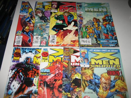 X-MEN UNLIMITED NºS 1-3-6-7-8-9 Y 13.SUELTOS CONSULTAR (Tebeos y Comics - Forum - X-Men)