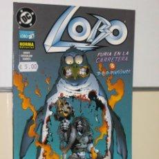 Cómics: LOBO Nº 16 FURIA EN LA CARRETERA & PINGUINO - NORMA EDITORIAL - OFERTA.. Lote 120332339