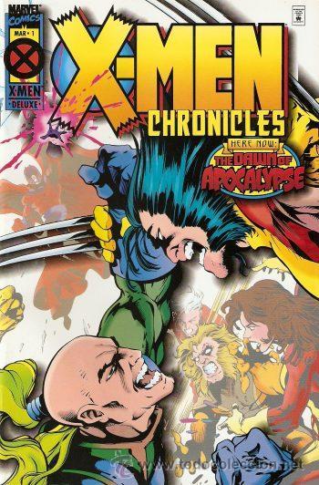 X MEN; LA ERA DE APOCALIPSIS, CRONICAS DE LOS X MEN Nº 1 Y 5 (Tebeos y Comics - Forum - X-Men)