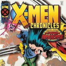 Cómics: X MEN; LA ERA DE APOCALIPSIS, CRONICAS DE LOS X MEN Nº 1 Y 5. Lote 26281646