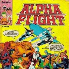 Cómics: ALPHA FLIGHT ( PLANETA-DEAGOSTINI, FORUM ) ORIGINALES 1985-1992 LOTE. Lote 26732708