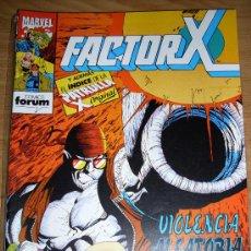 Comics: FORUM FACTOR X NUMERO 72. Lote 17731304