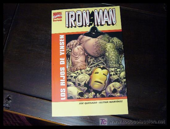 IRON MAN: LOS HIJOS DE YINSEN (Tebeos y Comics - Forum - Iron Man)