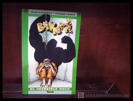 EL INCREÍBLE HULK: BANNER - RICHARD CORBEN - FORUM (Tebeos y Comics - Forum - Hulk)