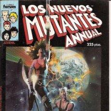 Cómics: LOS NUEVOS MUTANTES ANNUAL ESPECIAL PRIMAVERA EDITORIAL FORUM 1987. Lote 17762444