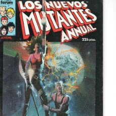 Cómics: LOS NUEVOS MUTANTES ESPECIAL PRIMAVERA DE FORUM. Lote 17783681