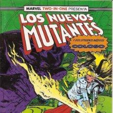 Cómics: MARVEL TWO-IN-ONE : LOS NUEVOS MUTANTES Nº 49 EDICIONES FORUM . Lote 17790253