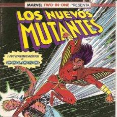 Cómics: MARVEL TWO-IN-ONE : LOS NUEVOS MUTANTES Nº 50 EDICIONES FORUM . Lote 17790278