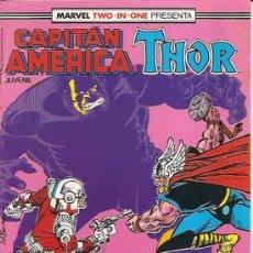 Cómics: MARVEL TWO-IN-ONE : CAPITAN AMERICA THOR Nº 55 EDICIONES FORUM . Lote 17790306