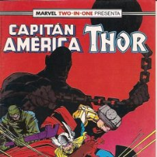 Cómics: MARVEL TWO-IN-ONE : CAPITAN AMERICA THOR Nº 57 EDICIONES FORUM . Lote 17790327