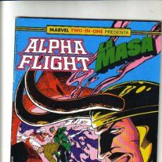 MARVEL TWO-IN-ONE : ALPHA FLIGHT LA MASA Nº 44 EDICIONES FORUM