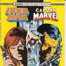 Cómics: MARVEL TWO-IN-ONE : IRON MAN CAPITAN MARVEL Nº 47 EDICIONES FORUM . Lote 89713244