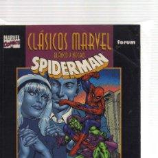 Cómics: SPIDERMAN - CLÁSICOS MARVEL BLANCO Y NEGRO. Lote 22571080