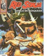 Cómics: RED SONJA DE FORUM COMPLETA 1 NUMEROS . Lote 23759667