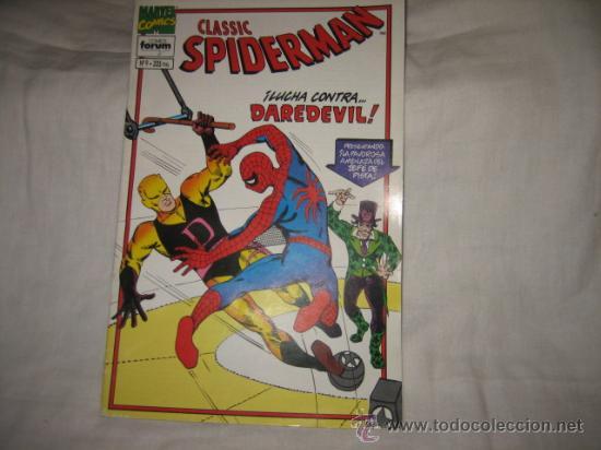 SPIDERMAN CLASSIC Nº 9 LUCHA CONTRA DAREDEVIL (Tebeos y Comics - Forum - Daredevil)