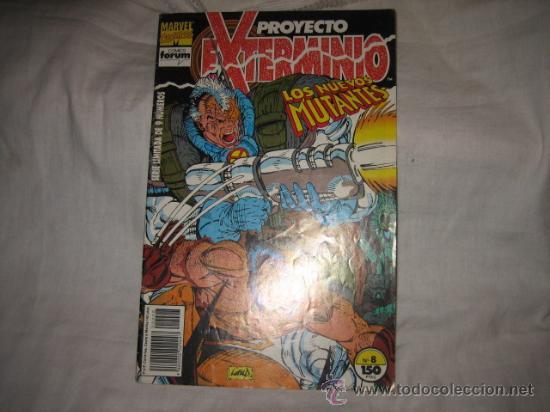 PROYECTO EXTERMINIO Nº 8 LOS NUEVOS MUTANTES (Tebeos y Comics - Forum - Nuevos Mutantes)