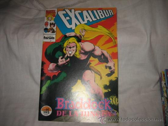 EXCALIBUR Nº 60 BRADDOCK DE LA JUNGLA (Tebeos y Comics - Forum - Otros Forum)