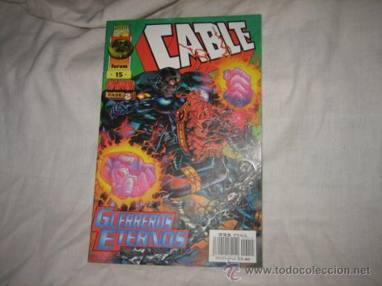 CABLE Nº 15 GUERREROS ETERNOS (Tebeos y Comics - Forum - Otros Forum)