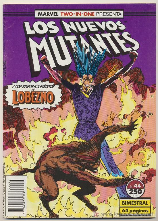 LOS NUEVOS MUTANTES Nº 44. MARVEL TWO IN ONE. (Tebeos y Comics - Forum - Nuevos Mutantes)