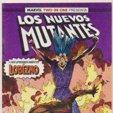 Cómics: LOS NUEVOS MUTANTES Nº 44. MARVEL TWO IN ONE.. Lote 17959694