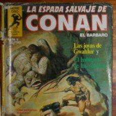 Cómics: LA ESPADA SALVAJE DE CONAN EL BARBARO. SERIE ORO NUM. 9 FORUM 1982. Lote 26723069
