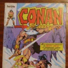 Cómics: CONAN EL BARBARO. FORUM 1985 JUVENIL COLOR . Lote 27178343