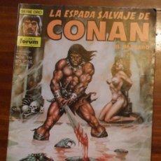 Cómics: LA ESPADA SALVAJE DE CONAN EL BARBARO SERIE ORO FORUM . Nº 114 1990. Lote 25983270