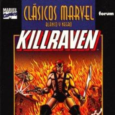 Cómics: KILLRAVEN TOMO 1,CLASICOS BLANCO NEGRO ( MACGREGOR, TRIMPLE & RUSSELL) . Lote 27445057