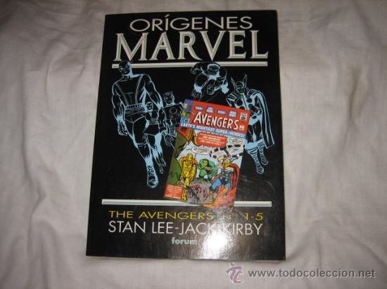 ORIGENES MARVEL THE AVENGERS Nº 1-5 STAN LEE-JACK KIRBY (Tebeos y Comics - Forum - Otros Forum)