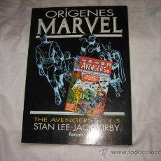 Cómics: ORIGENES MARVEL THE AVENGERS Nº 1-5 STAN LEE-JACK KIRBY . Lote 18335100
