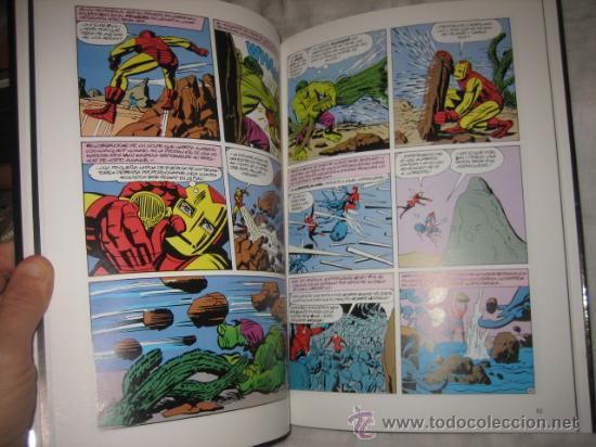Cómics: ORIGENES MARVEL THE AVENGERS Nº 1-5 STAN LEE-JACK KIRBY - Foto 3 - 18335100