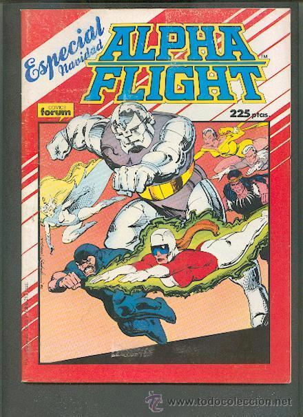 ALPHA FLIGHT ESPECIAL NAVIDAD AÑO 1987, EDITORIAL FORUM (Tebeos y Comics - Forum - Alpha Flight)