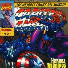 Cómics: CAPITAN AMERICA VOLUMEN 2 NUMERO 12 (NUMERO DOBLE). Lote 27593652