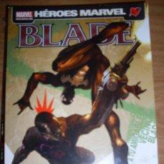 Cómics: EDICIONES PANINI LIBRO COMIC HEROES MARVEL PRESENTA A BLADE. Lote 18569332