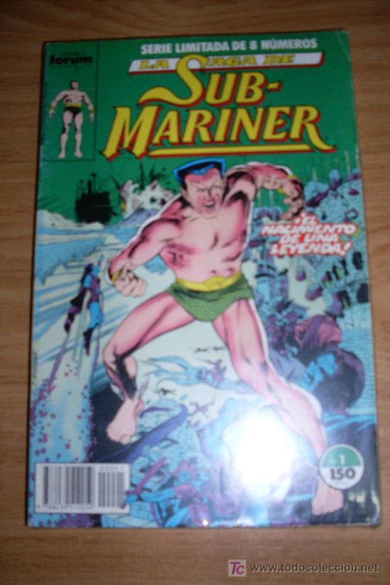 FORUM SUB-MARINER SAGA COMPLETA 8 NUMEROS (Tebeos y Comics - Forum - Otros Forum)