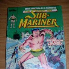 Cómics: FORUM SUB-MARINER SAGA COMPLETA 8 NUMEROS. Lote 18588139