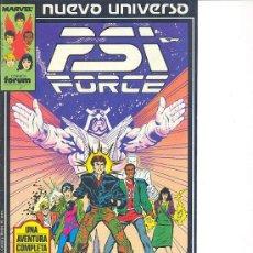 Cómics: PSI FORCE Nº 1 - NUEVO UNIVERSO DE MARVEL. Lote 27101271