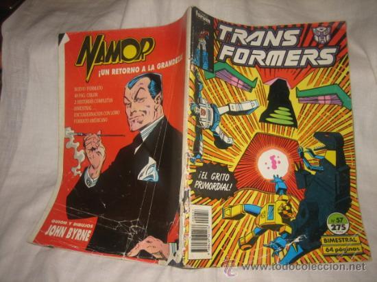 TRANSFORMES Nº 57 BIMESTRAL CANTO ESTROPEADO VER FOTOS (Tebeos y Comics - Forum - Otros Forum)