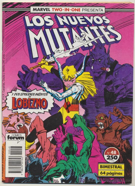 LOS NUEVOS MUTANTES Nº 48. (Tebeos y Comics - Forum - Nuevos Mutantes)