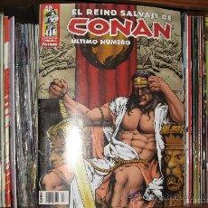 Cómics: EL REINO SALVAJE DE CONAN - COMPLETA - 40 NÚMEROS - FORUM. Lote 47722878
