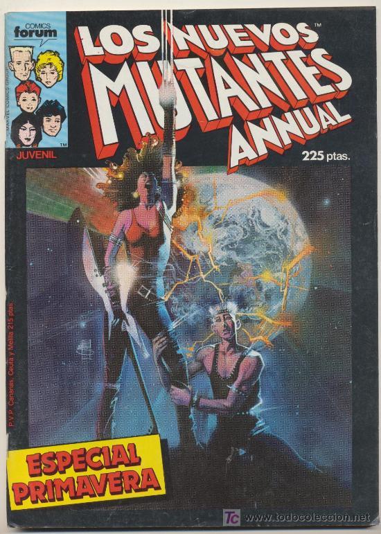 LOS NUEVOS MUTANTES ESPECIAL PRIMAVERA (Tebeos y Comics - Forum - Nuevos Mutantes)