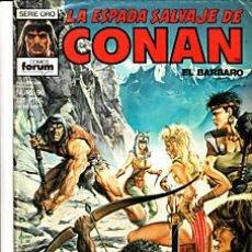 Cómics: CÓMIC-ESPADA SALVAJE DE CONAN EL BÁRBARO Nº 90-ED.FORUM 1ªED.. Lote 27361362