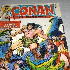 Cómics: FORUM VOL. 1 CONAN EL BÁRBARO Nº 1. 95 PTS. 1983. CON EL PÓSTER!!!!!!!. Lote 18911770