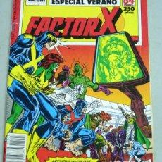 Cómics: FACTOR X ESPECIAL VERANO COMIC FORUM 1989. Lote 19034513
