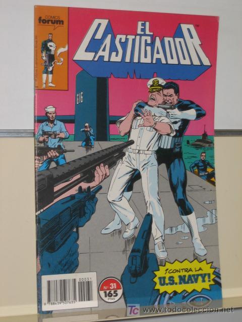 EL CASTIGADOR Nº 31 FORUM (Tebeos y Comics - Forum - Otros Forum)