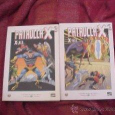 Cómics: PATRULLA X. X MEN. Nº 2 Y 3. GRANDES HEROES DEL COMIC. BIBLIOTECA EL MUNDO. MARVEL COMICS. Lote 19171121