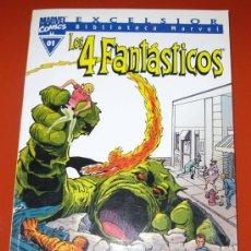 Cómics: LOS 4 FANTASTICOS 01 - BIBLIOTECA MARVEL - EXCELSIOR - 168 PAGINAS - TAPA BLANDA. Lote 83882303