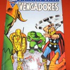 Cómics: LOS VENGADORES -BIBLIOTECA MARVEL - Nº1 - EXCELSIOR -142 PAGINAS - TAPA BLANDA. Lote 83882330