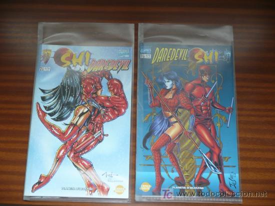 CROSSOVER DE DOS NÚMEROS SHI / DAREDEVIL - CRUSADE/MARVEL (Tebeos y Comics - Forum - Daredevil)